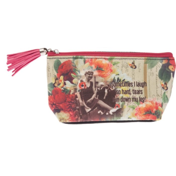Sometimes I Laugh Small Cosmetic Bag