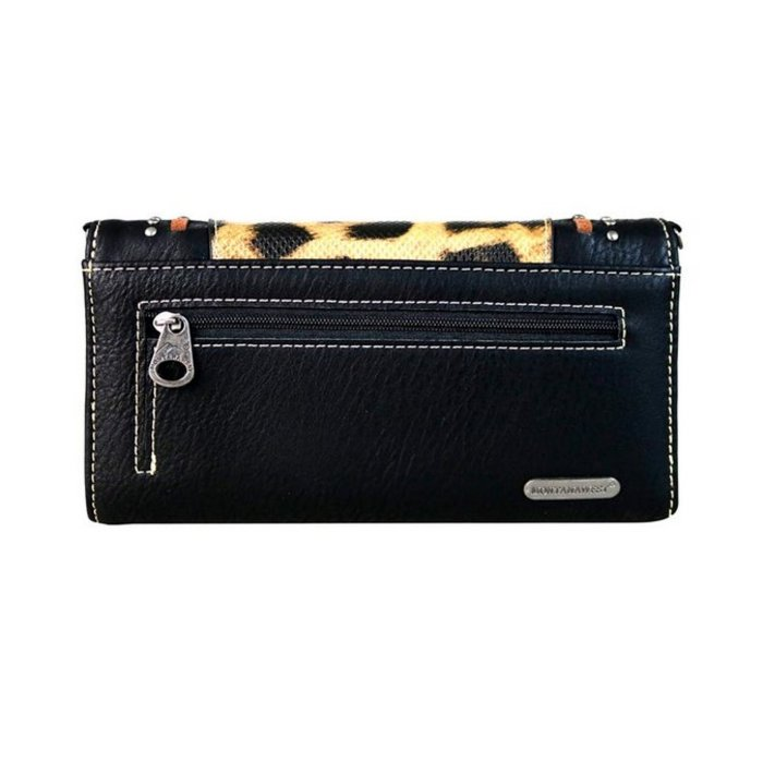 Leopard Black Crossbody/Wallet