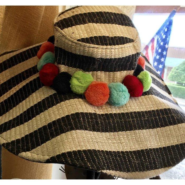 Beaujolais Pompom Hat
