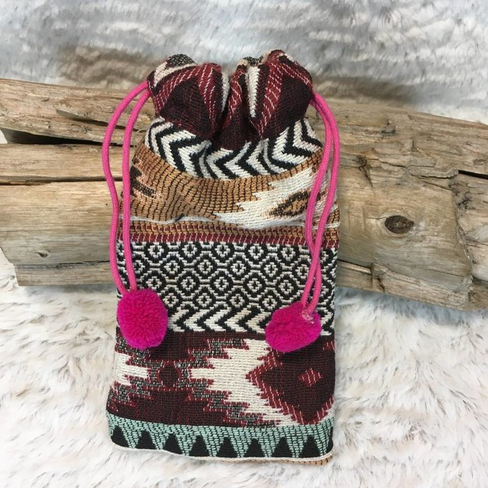 Tribal Sunglass Pouch - E