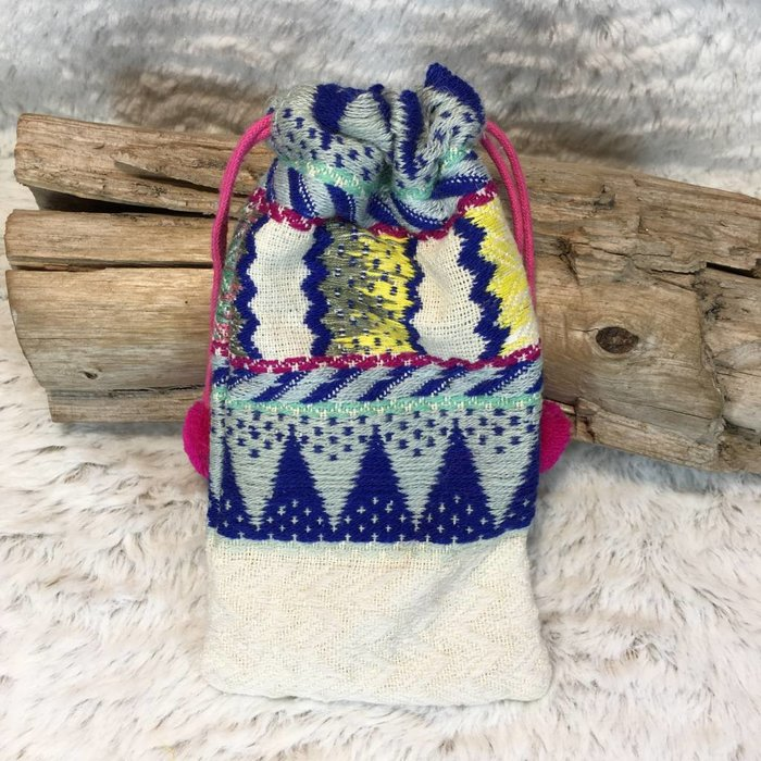 Tribal Sunglass Pouch - A