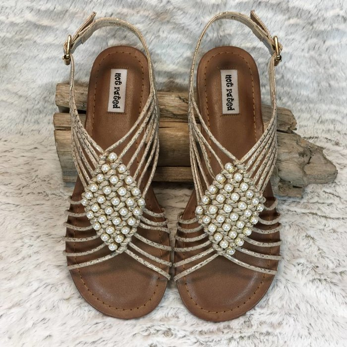 Cielo Gold Sandals