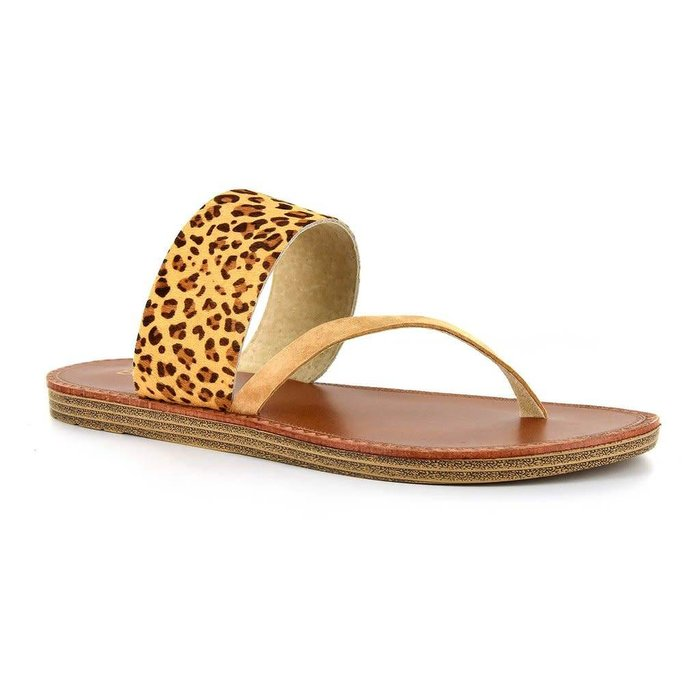 Leopard Camilla Sandals