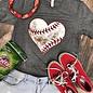 Dirty Heart Baseball T-Shirt