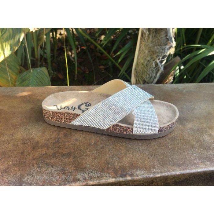 Silver Chiga Chiga Sandal