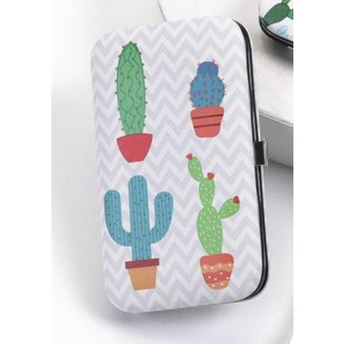 Potted Cactus Design Manicure Set