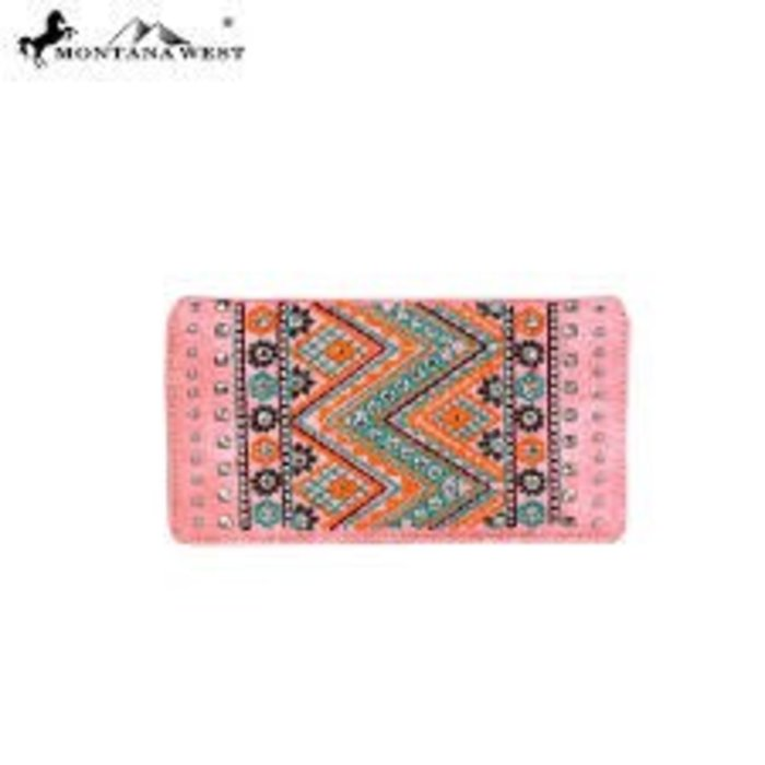 Pink Aztec Wallet