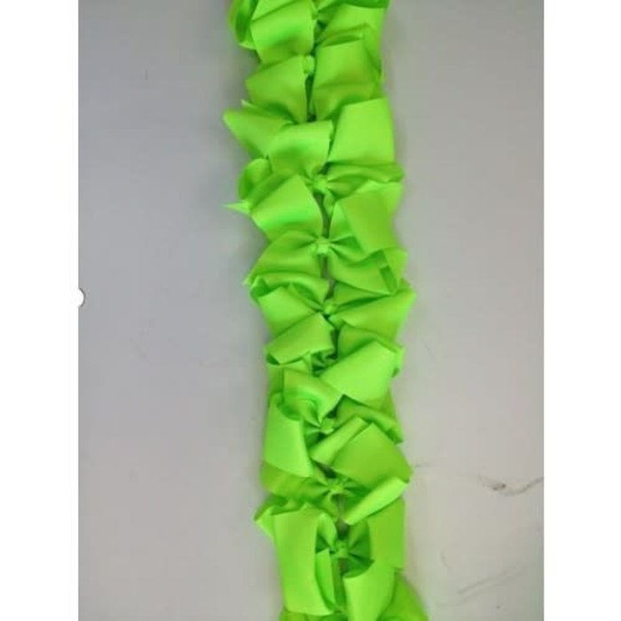 Large Lime Green Bow
