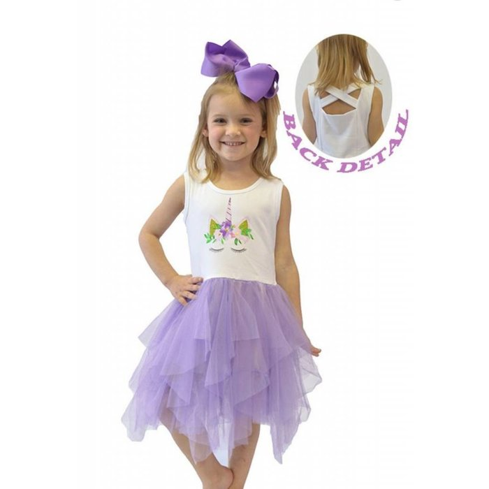 Purple Tutu Unicorn Dress