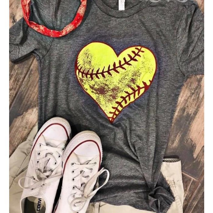 Dirty Heart Softball T-Shirt
