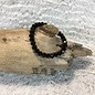 Black Crystal Stretch Bracelet