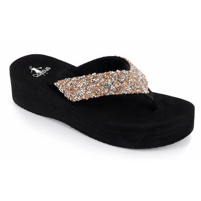 Salvang - Rose/Silver Flip Flop