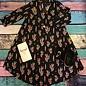 Black Serape Cactus Dress w/Pockets