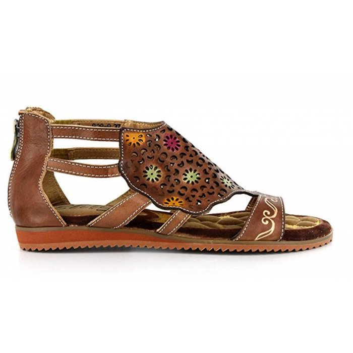Elite Curacao - Natural Brown Sandal