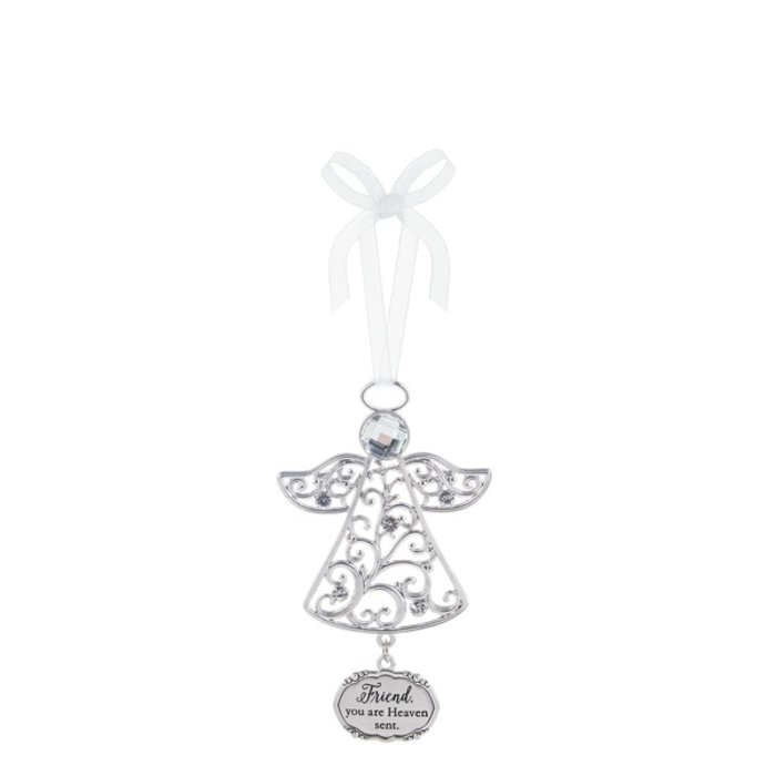 Friend You Are Heaven Sent Angel Ornament