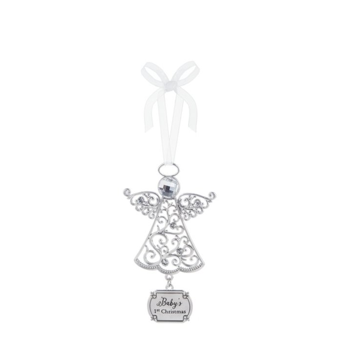 Baby's 1st Christmas Angel Ornament
