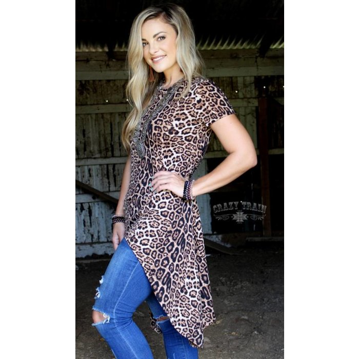 Wild Willow Leopard Tunic