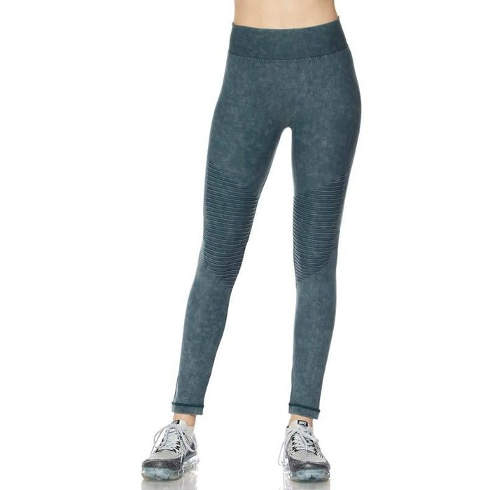 Charcoal Grey Motto Leggings