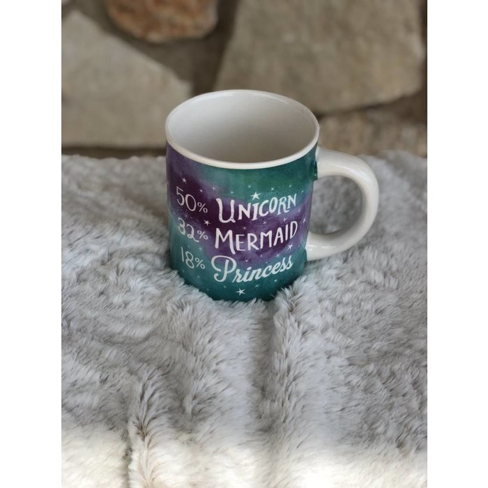 Unicorn Mermaid Princess Mug