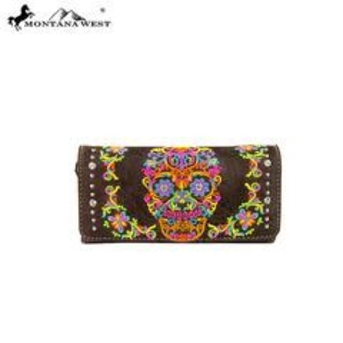 Brown Sugar Skull Wallet