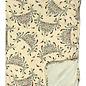 Ivory Hobo Deer Skull Baby Blanket