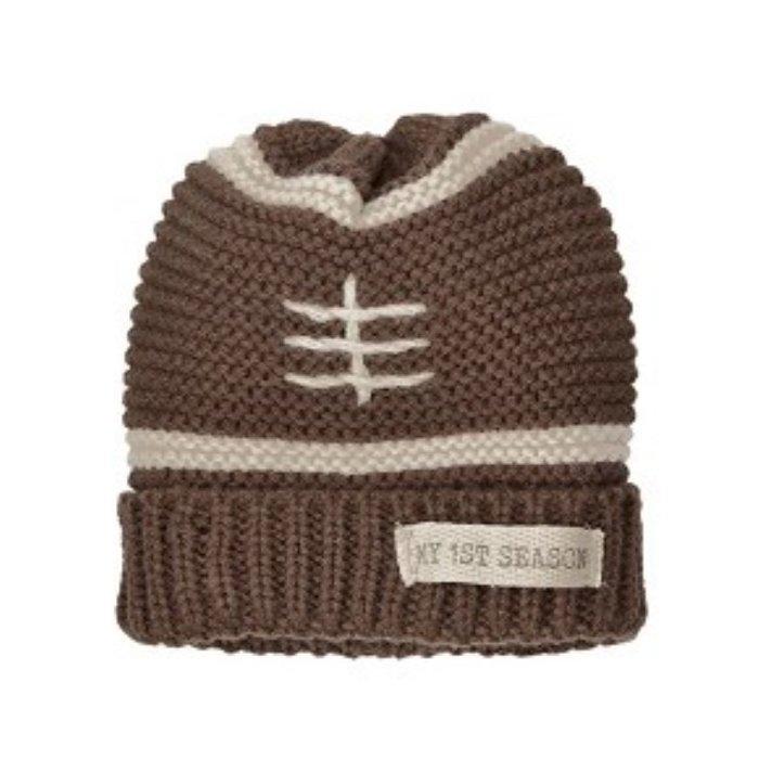 Football Knitted My 1st Season Hat