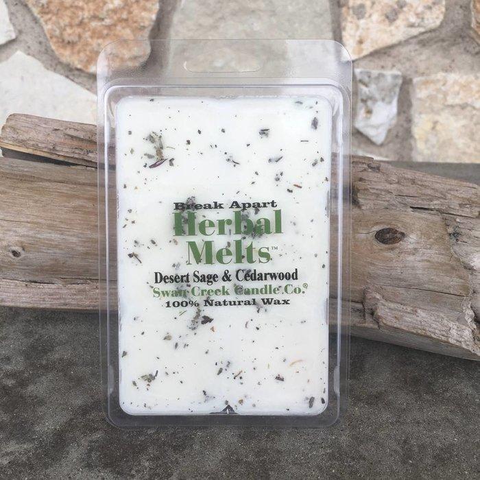 Desert Sage & Cedarwood Herbal Melts