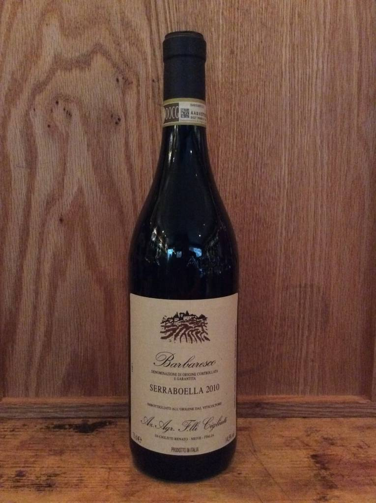 Cigliuti Barbaresco Serraboella 2010 (750ml)