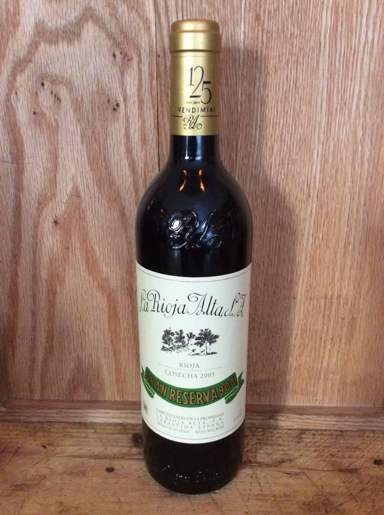 """La Rioja Alta """"904"""" Gran Reserva 2005 (750ml)"""