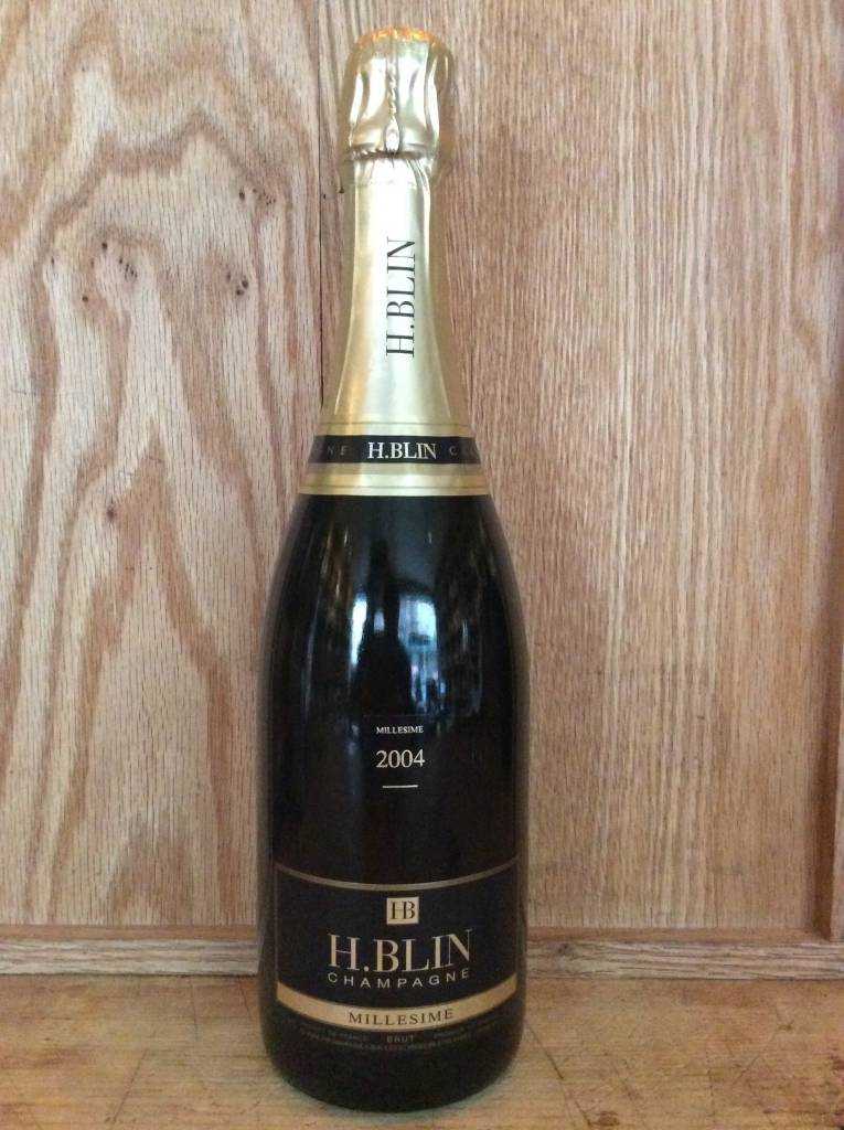 H. Blin Champagne Brut 2004 (750ml)
