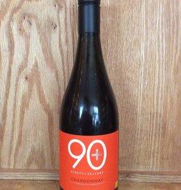 90+ Cellars Chardonnay Mendocino Chardonnay 2015 (750ml)