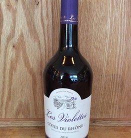 Les Violettes Cotes du Rhone Rouge 2014 (750ml)