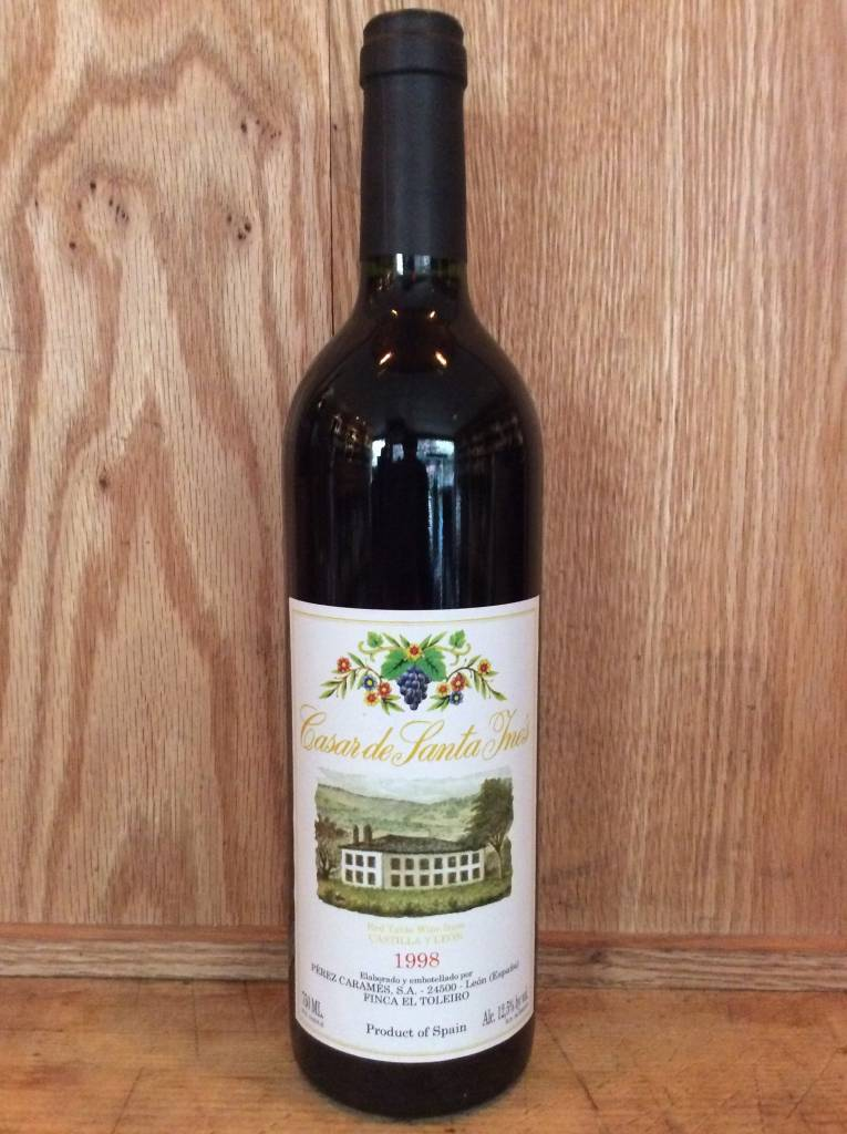 Casar Santa Ines Vino de la Tierra Castilla 1998 (750ml)