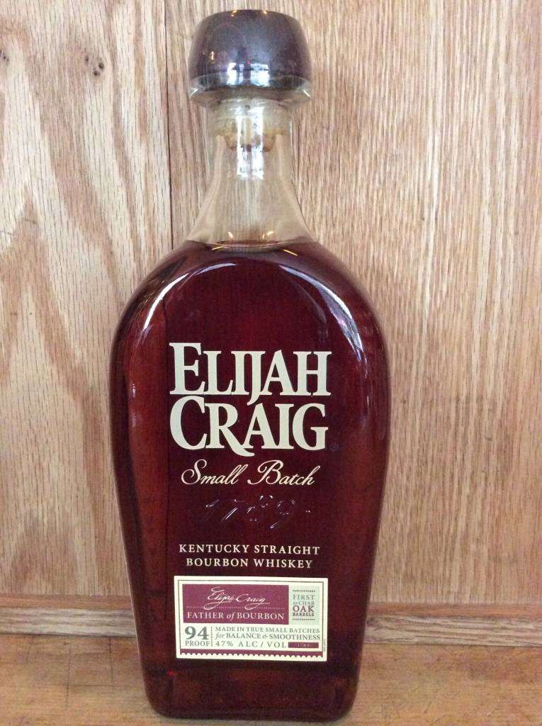 Elijah Craig Small Batch Bourbon (750ml)