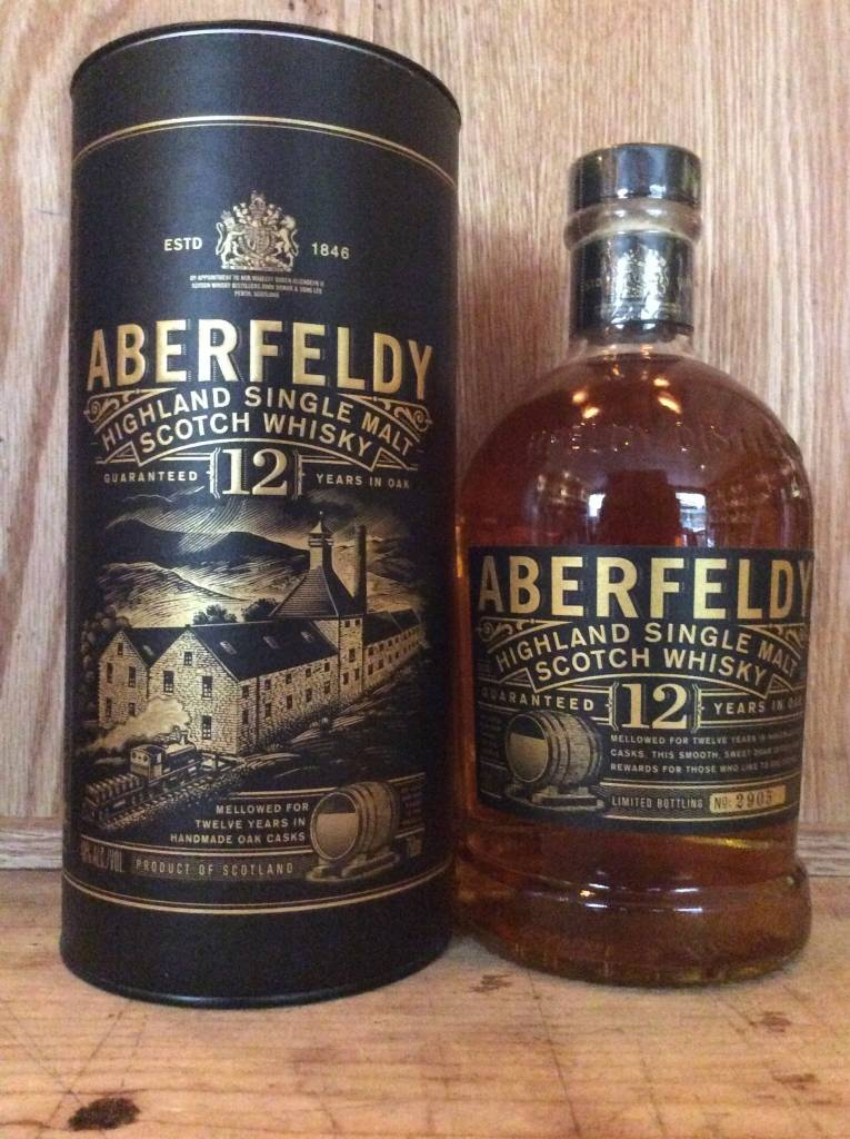 Aberfeldy 12 Yr Highland Single Malt Scotch (750ml)