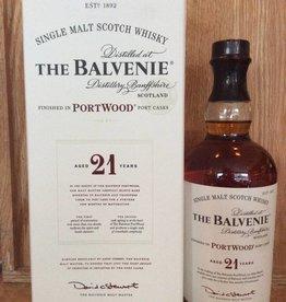 Balvenie 21 Yr Portwood Single Malt Scotch (750ml)