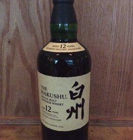Hakushu Whisky Single Malt 12 yr