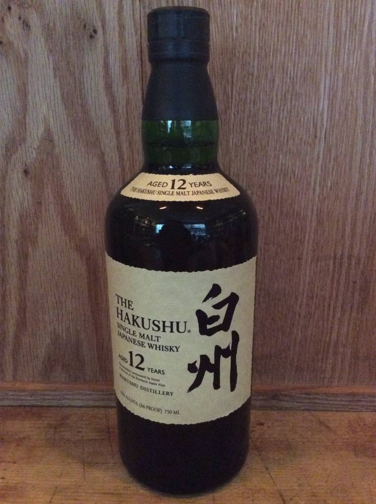 Hakushu Whisky Single Malt 12 yr (750ml)