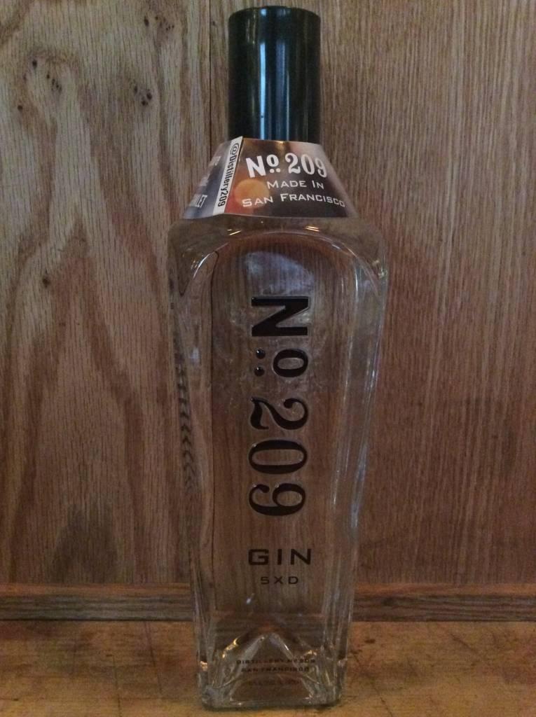 No 209 Gin 750ml