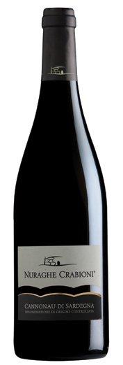 Nuraghe Crabioni Cannonau 2015 (750ml)
