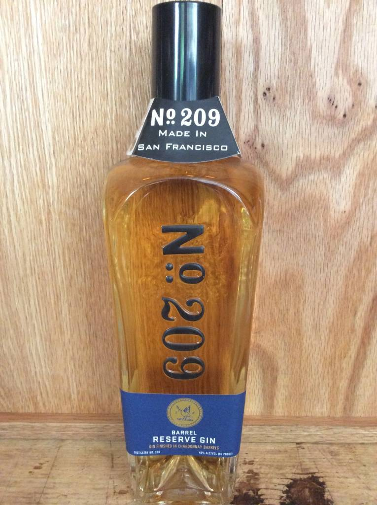 No. 209 Chardonnay-Barrel Reserve Gin (750ml)