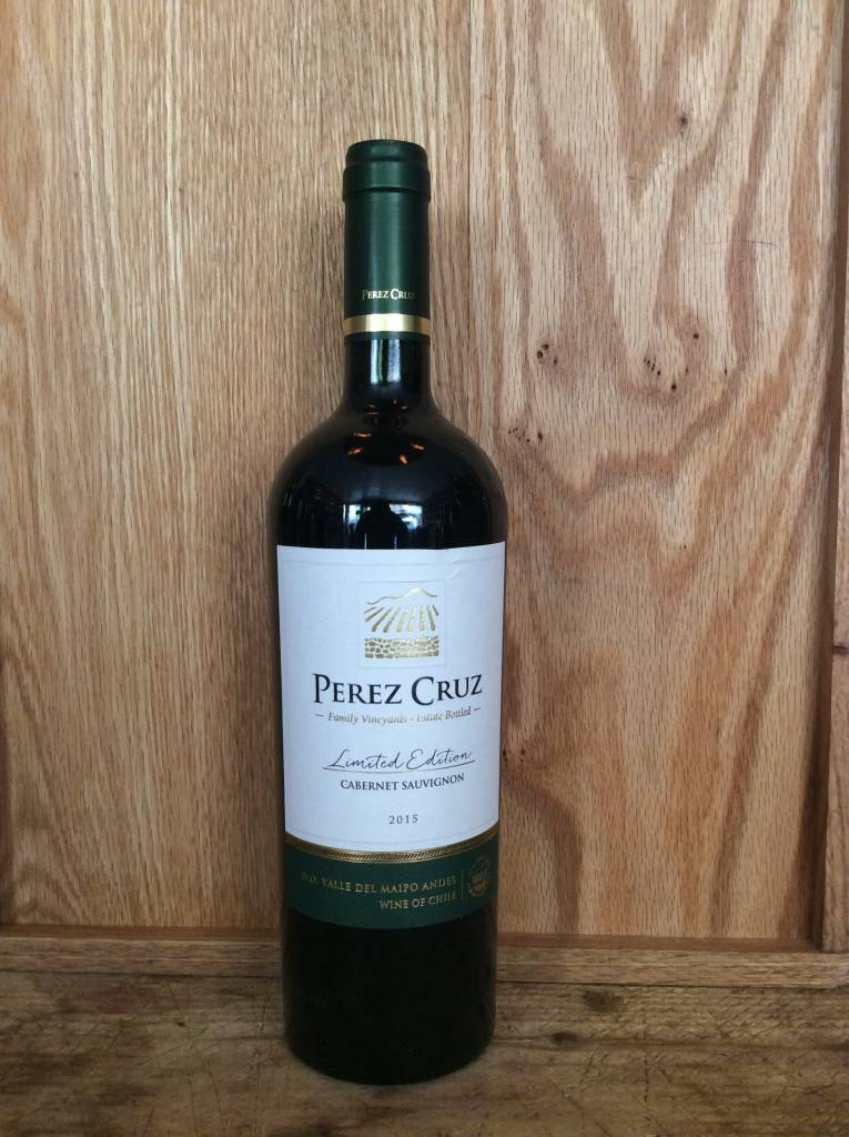 Perez Cruz Limited Edition Maipo Cabernet Sauvignon 2015 (750ml)