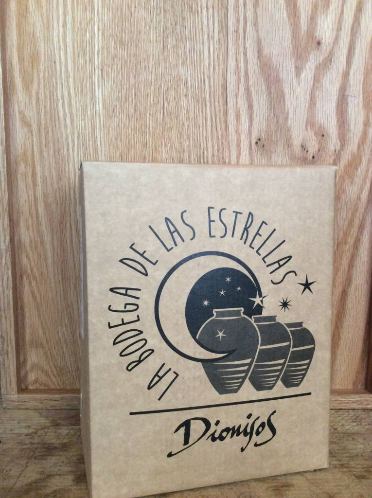 La Bodega de las Estrellas Dionisos Tinaja (3L Box)