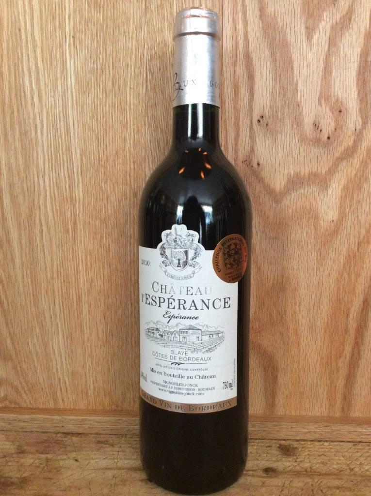 L'Esperance Blaye Cotes de Bordeaux 2010 (750ml)