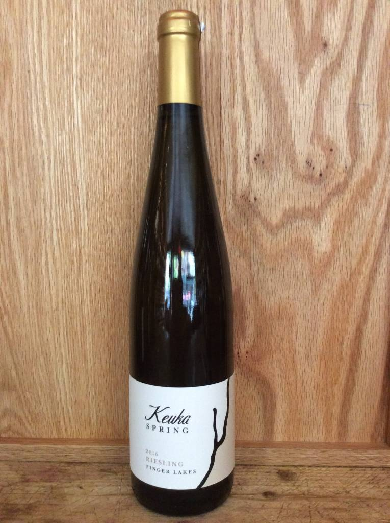 Keuka Spring Vineyards Semi-Dry Riesling 2016 (750ml)