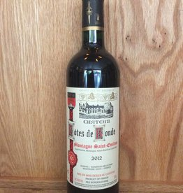 Chateau Cotes de Bonde 2012 (750ml)