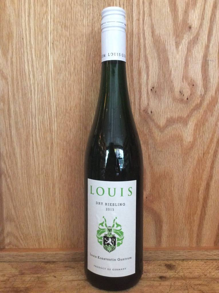 Louis Wines By Guntrum Dry Riesling 2016 (750ml)