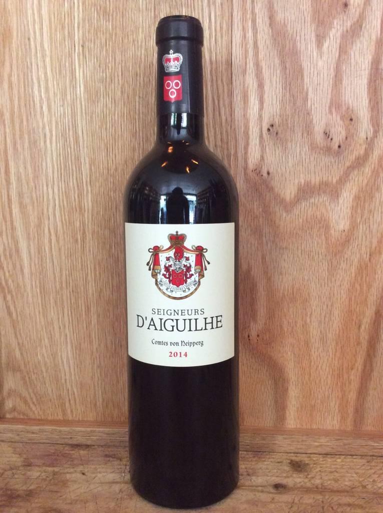 Salin Seigneurs D'Aiguilhe Castillon Cotes de Bordeaux 2014 (750ml)