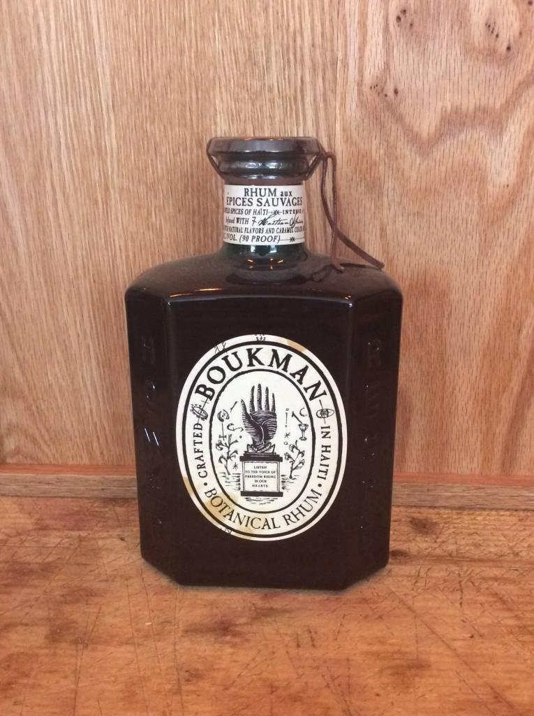 Boukman Wild Spice Rum 750mL