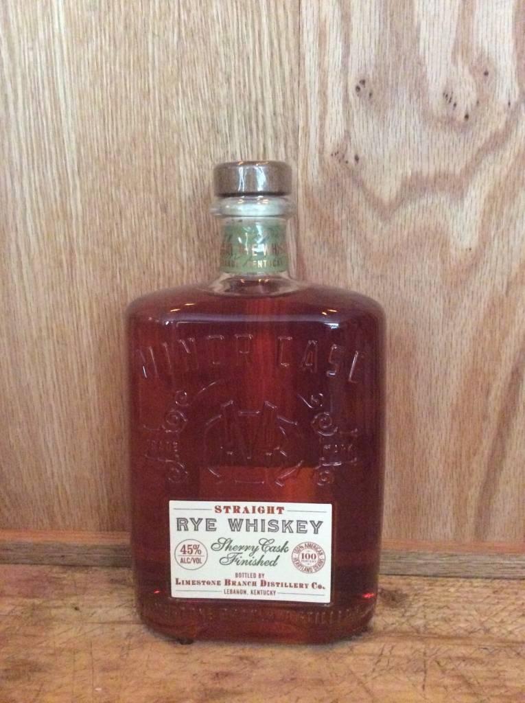 Minor Case Rye Whiskey Sherry Cask Aged (750ml)